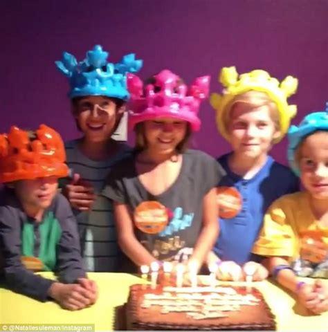 octomom shares video   brood   kids turn