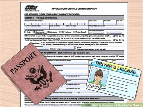 How To Register A Vehicle After Moving