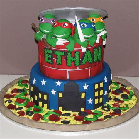 Ninja Turtle Decorations For Cakes awesome ninja turtles cake cakes pinterest ninja