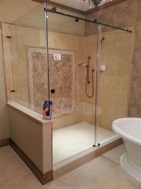 skyline series shower glass images  pinterest