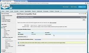 Create Simple Workflow In Salesforce Com Avi