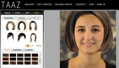 taaz upload  photo create  virtual makeover