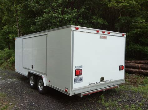 used aluminum trailer cabinets for sale for sale trailex cte 80180 enclosed trailer rennlist