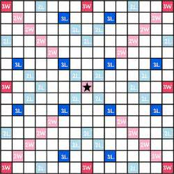 100 scrabble board template this is a size version flickr