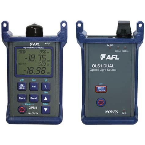 power meter light source test encircled flux test kits fiber loss testing afl