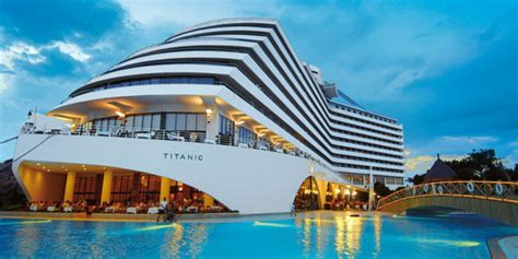 Titanic Boat Turkey by Cruise Ship Hotels You Have To See To Believe