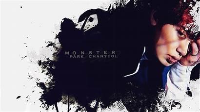 Exo Chanyeol Monster Desktop Pc Baekhyun Comeback