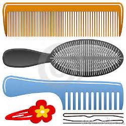 Hair Brush and Comb Clip Art