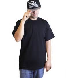 Short Sleeve Blank Black T-Shirt