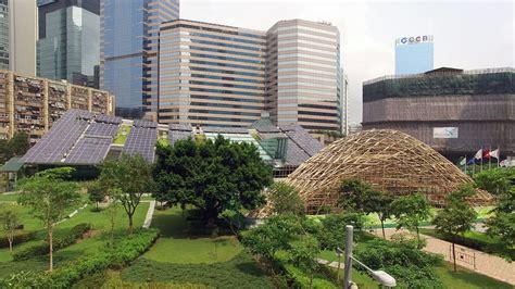 zcb bamboo pavilion  chinese university  hong kong school  architecture floornature