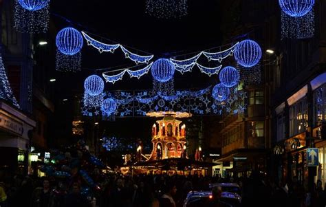 when is the lights switch on in birmingham