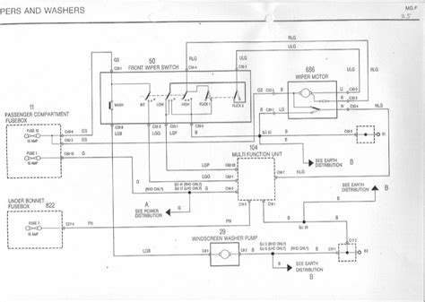 wiper motor wiring diagram mg rover org forums