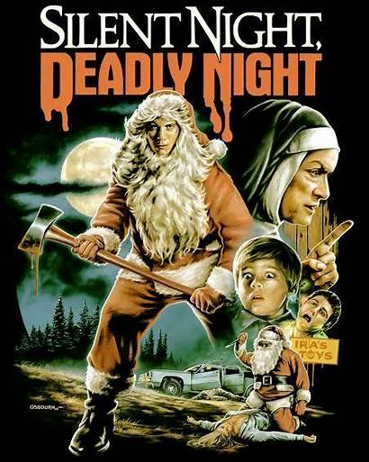 Fright Night Silent Deadly Rags Horror Christmas