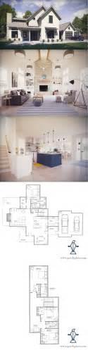 Open Space Floor Plan by Best 25 Farmhouse Floor Plans Ideas On