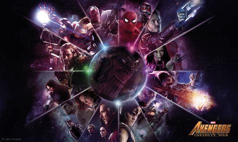 Marvel Avenger Infinity War By Julien Horguelin Marvel