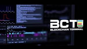Blockchain Terminal for Crypto Trades Built with Hedge ...