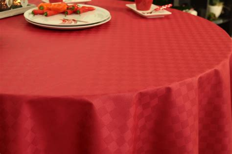 Tischdecke Abwaschbar Hochwertig by Abwaschbare Tischdecke Rot Kleines Karo Janita 216 80 Cm Bis