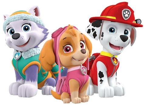 everest jumping paw patrol clipart png marshall everest paw patrol clipart png Unique