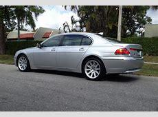 2005 BMW 745I 2 DOOR SEDAN 151480