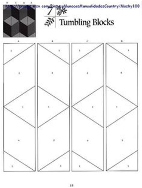 tumbling block quilt pattern template quilt patterns on pinterest quilt patterns free pattern