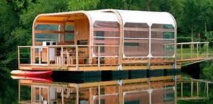 Maison Flottant Prix : aquashell maisons flottantes en bois fran aises construire tendance ~ Dode.kayakingforconservation.com Idées de Décoration