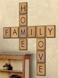25 best ideas about large wooden letters on pinterest With letter wall decor michaels