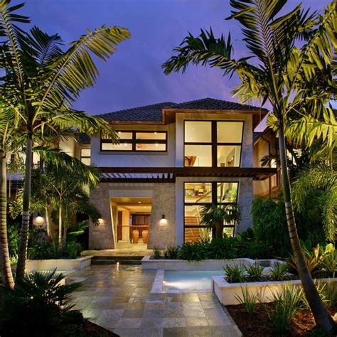 tropical style house plans captiva house tropical exterior other metro by k2 design group inc