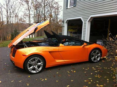 buy   lamborghini gallardo spyder convertible rare