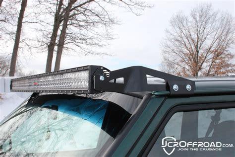 jeep xj light bar mount jcr offroad low profile 50 quot led light bar mount for jeep