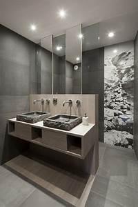 Beton Hydrofuge Pour Salle De Bain : salle de bain en b ton cir pour un am nagement tendance ~ Edinachiropracticcenter.com Idées de Décoration