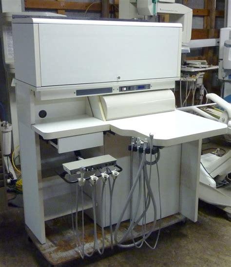 rear delivery dental cabinet pelton crane spirit rear delivery cabinet pre owned