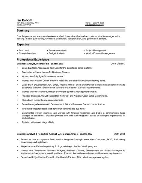 Ex Adf Resume ian babbitt resume 2015 07 30