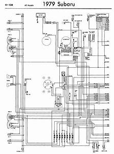 Subaru 1979 Models Wiring Diagrams