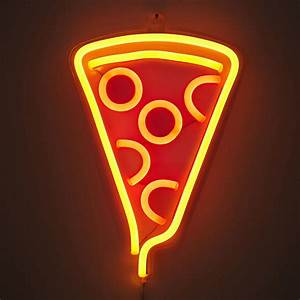 Pizza Slice Neon Sign - So That's Cool