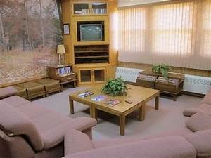 The shows a good description of the cabin living room for 1980s living room furniture