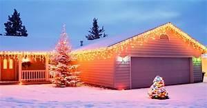 Christmas, Lights, On, House, Wallpaper