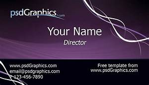 Business card template photoshop free business template for Photoshop business card template