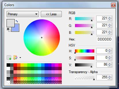 solucionado cambiar el color de primer plano de una