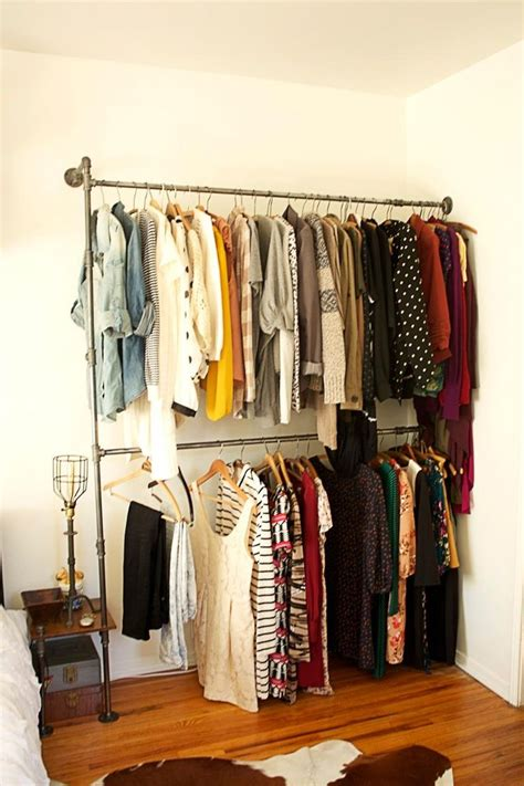 best 25 pipe clothes rack ideas on clothes