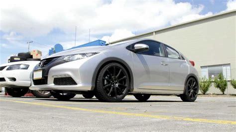2013 Honda Civic Rolling 19 Inch Diezel Zeus Wheels