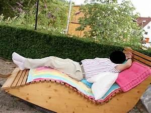 Relaxliege Holz Schablone : relax liege xxl f r 2 personen bauanleitung zum selber bauen selber machen gartenliege selber ~ A.2002-acura-tl-radio.info Haus und Dekorationen