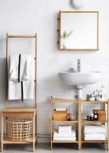 Echelle Porte Vetement : porte serviettes 8 mod les design pour ma salle de bains marie claire ~ Nature-et-papiers.com Idées de Décoration