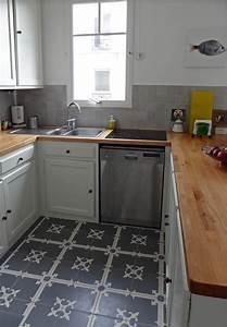 Graue Fliesen Küche : graue zementfliesen in der k che kitchen pinterest k che fliesen und grauer k chenboden ~ Eleganceandgraceweddings.com Haus und Dekorationen