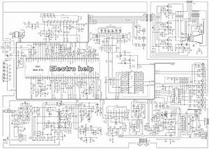 Circuit Diagram For Tv  Tv Schematic Diagram Wiring