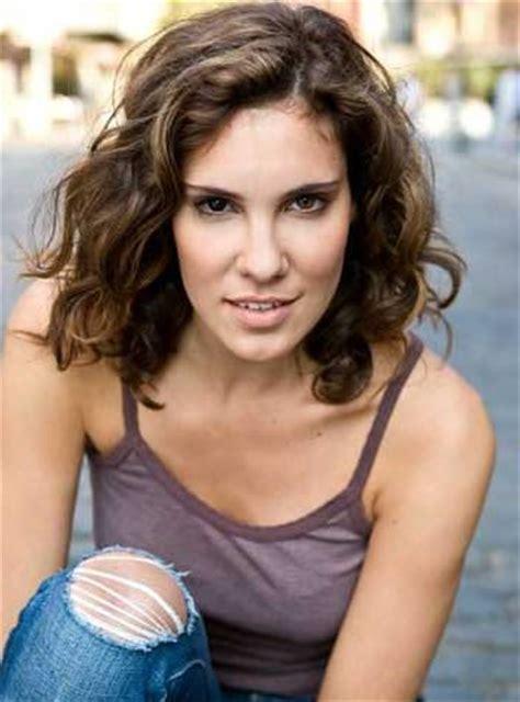 Daniela Ruah Curly Hairstyle