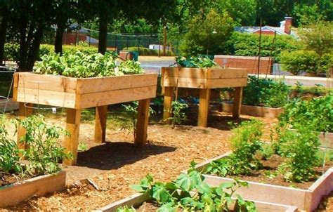 pallet raised garden beds pallet ideas recycled