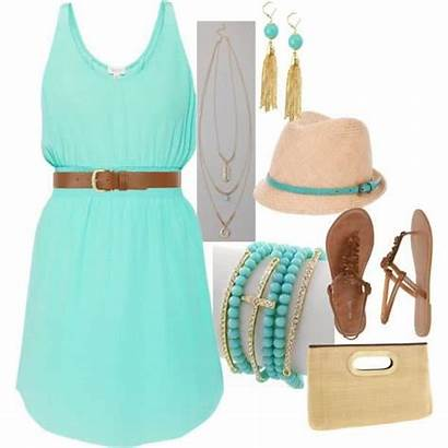 Polyvore Outfits Summer Dresses Days Perfect Nice