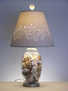 Fill, Your, Own, Seashell, Lamp