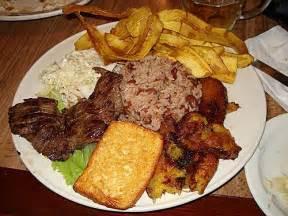 Nicaragua Gallo Pinto Con Carne