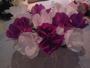 fleur papier crepon fashion designs With chambre bébé design avec bouquet de fleurs en soie
